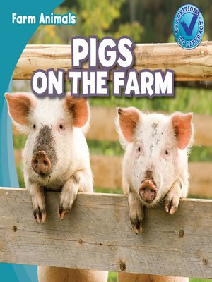 cover image of Pigs on the Farm