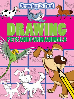 cover image of Drawing Pets and Farm Animals