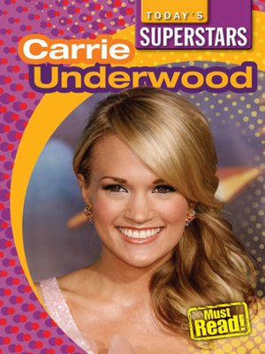 cover image of Carrie Underwood
