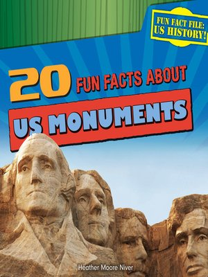 cover image of 20 Fun Facts About US Monuments