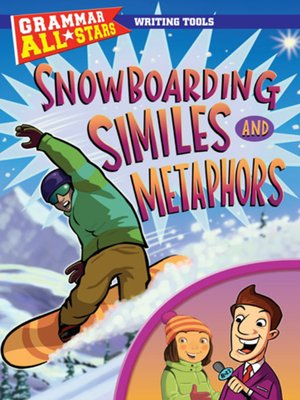 cover image of Snowboarding Similes and Metaphors