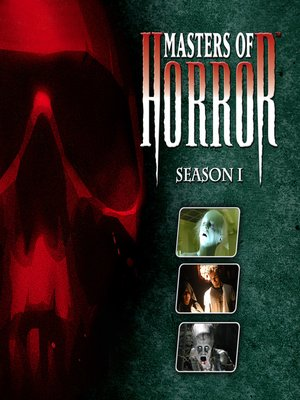 cover image of Masters of Horror, Season 1, Episode 6