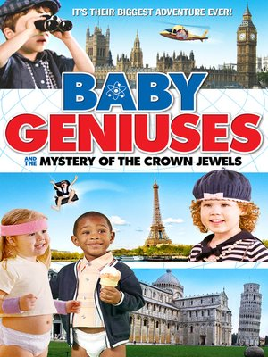 cover image of Baby Geniuses and the Mystery of the Crown Jewels