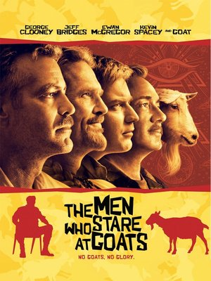 cover image of The Men Who Stare at Goats