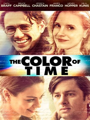 cover image of The Color of Time
