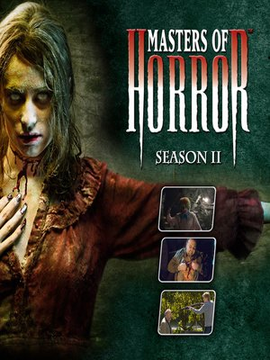 cover image of Masters of Horror, Season 2, Episode 3
