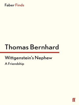 Thomas bernhard overdrive rakuten overdrive ebooks audiobooks cover image of wittgensteins nephew fandeluxe Choice Image