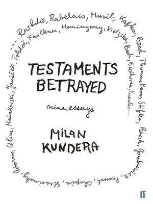 cover image of Testaments Betrayed