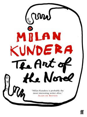 cover image of The Art of the Novel