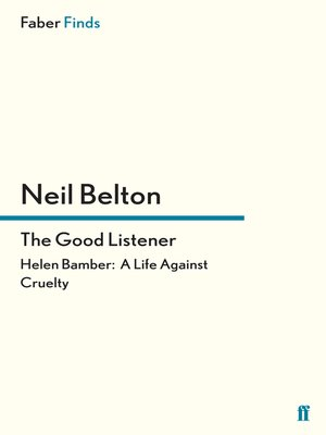 cover image of The Good Listener