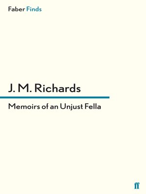 cover image of Memoirs of an Unjust Fella