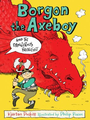 cover image of Borgon the Axeboy and the Dangerous Breakfast
