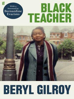 cover image of Black Teacher