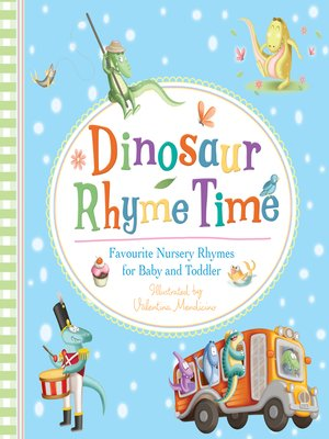cover image of Dinosaur Rhyme Time