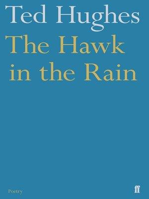 the hawk in the rain essay
