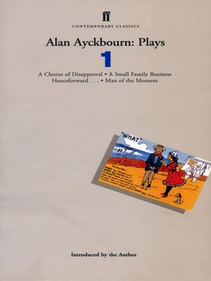 cover image of Alan Ayckbourn Plays 1