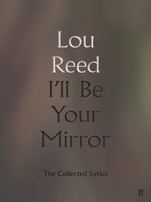 cover image of I'll Be Your Mirror