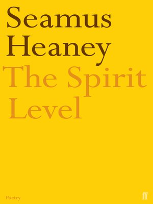 cover image of The Spirit Level