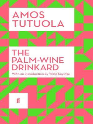 cover image of The Palm-Wine Drinkard
