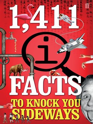 cover image of 1,411 QI Facts to Knock You Sideways