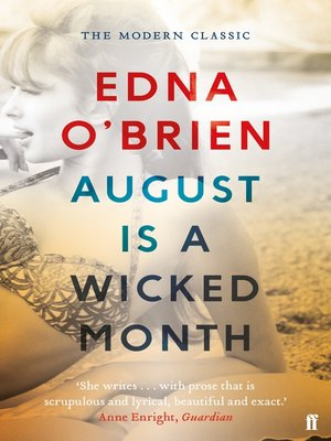 cover image of August is a Wicked Month