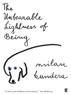 cover image of The Unbearable Lightness of Being