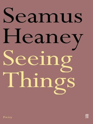 cover image of Seeing Things