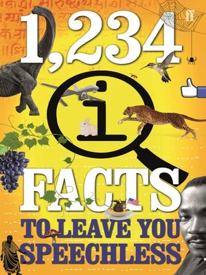 cover image of 1,234 QI Facts to Leave You Speechless