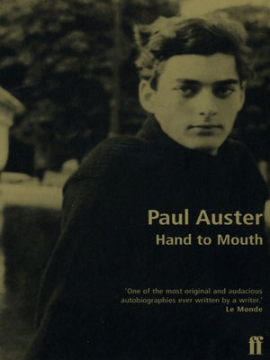 cover image of Hand to Mouth