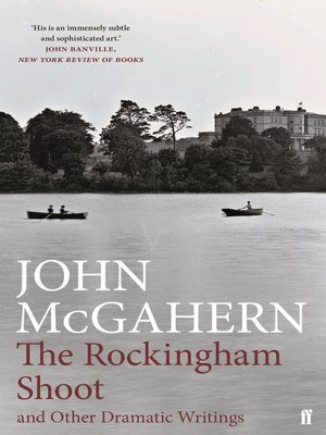 cover image of The Rockingham Shoot and Other Dramatic Writings