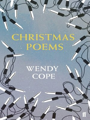 cover image of Christmas Poems
