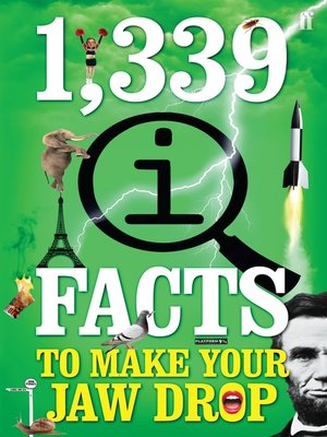 cover image of 1,339 QI Facts to Make Your Jaw Drop