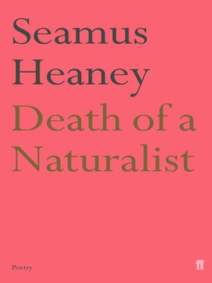 cover image of Death of a Naturalist