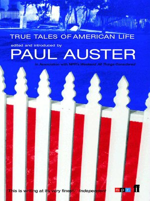 cover image of True Tales of American Life