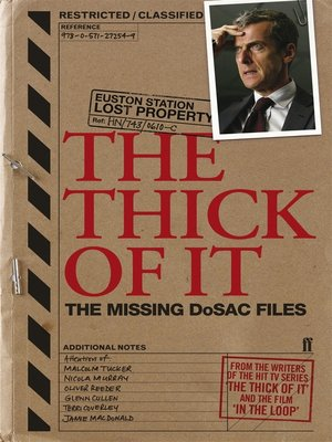 cover image of The Thick of It
