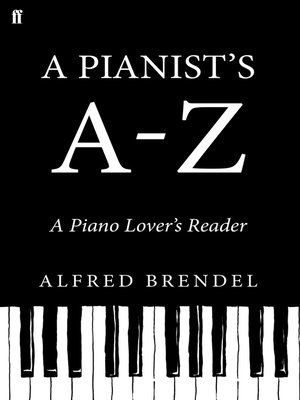 cover image of A Pianist's A-Z