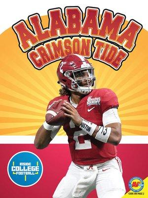 cover image of Alabama Crimson Tide