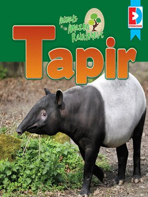 cover image of Animals of the Amazon Rainforest: Tapir
