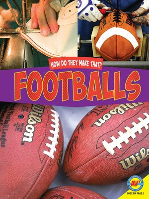 cover image of Footballs