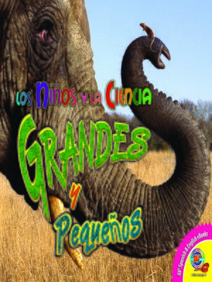 cover image of Grandes y pequeños (Big and Small)