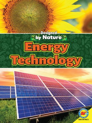 cover image of Energy Technology