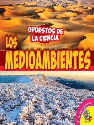 cover image of Los medioambientes