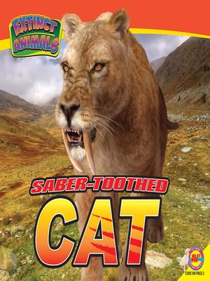 cover image of Saber-Toothed Cat