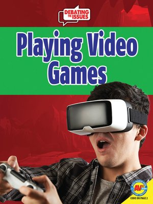 cover image of Playing Video Games