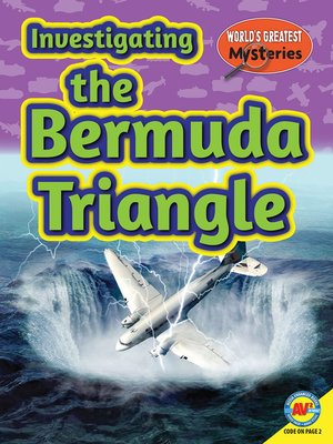 cover image of Investigating the Bermuda Triangle