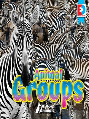 cover image of All About Animals: Animal Groups