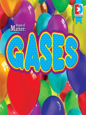 cover image of States of Matter: Gases