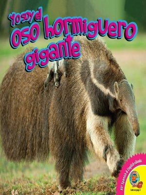 cover image of El oso hormiguero gigante