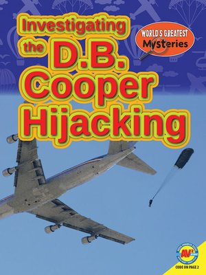 cover image of Investigating the D.B. Cooper Hijacking