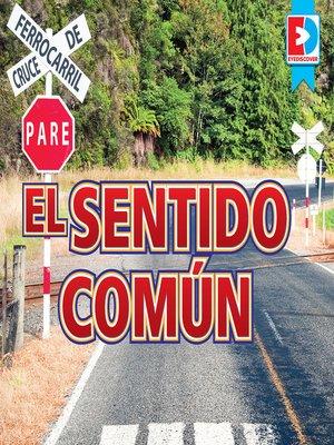 cover image of El sentido común